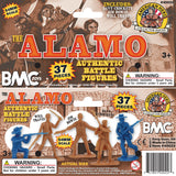BMC The Alamo Plastic Army Men - Texas vs. Mexico 37pc Soldier Figures