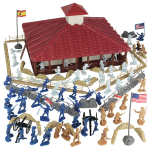 BMC The Rough Riders Charge Up San Juan Hill - 102pc Boxed Playset