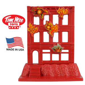 TimMee BRICK BUILDING Under Attack - Plastic Army Men Playset Accessory - Made in USA