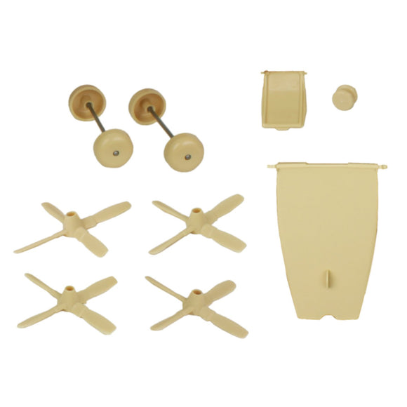 TimMee Plastic Army Men C130 Tan Replacement Parts - Made in USA