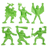 TimMee Legendary BATTLE Fantasy Figures: 24pc 70mm Set - Made in USA