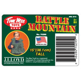 TimMee BATTLE MOUNTAIN Scenery: Figure Display or Play Terrain - Made in USA