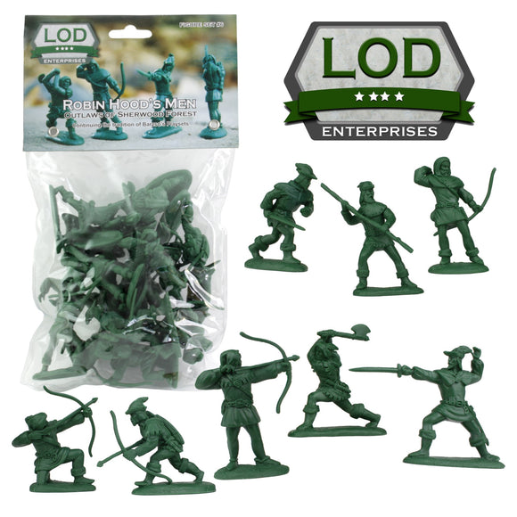 Robin Hood and Merry Men Figures by LOD