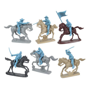 Civil War Cavalry Soldiers Charging by TSSD
