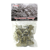 TSSD Vietnam NORTH VIETNAMESE ARMY: 16 Khaki 1:32 Plastic Army Men Figures