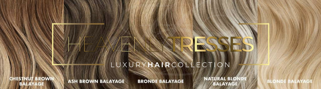 Blonde Color Balayage Wig Color Chart