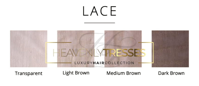 Heavenly Tresses Swiss Lace Color Chart
