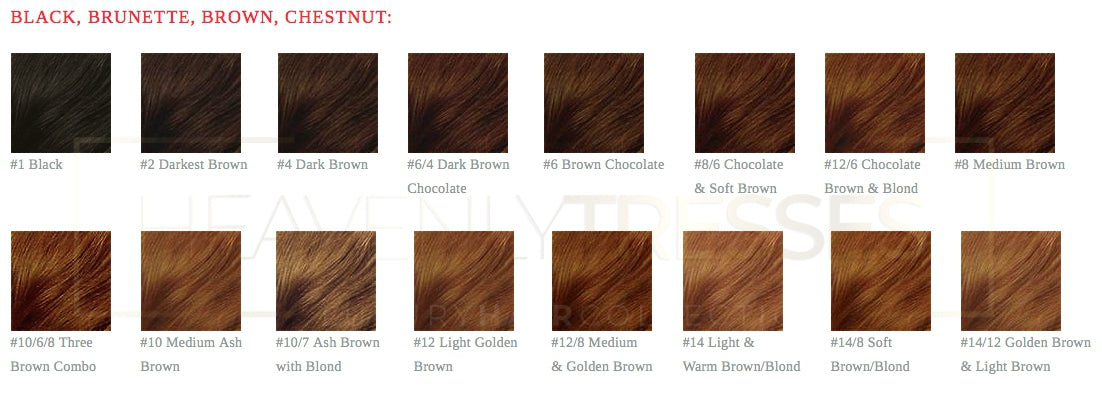 Lace wig human hair color chart colored lace wigs heavenly tresses