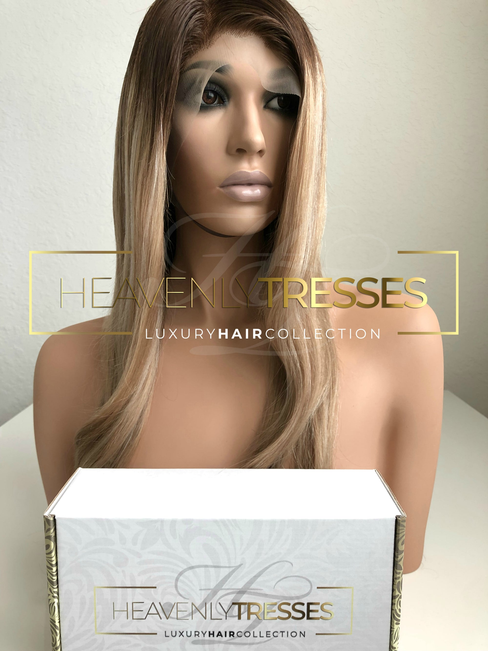Honey/Sunkissed Blonde & Ash Blonde Balayage European Wig