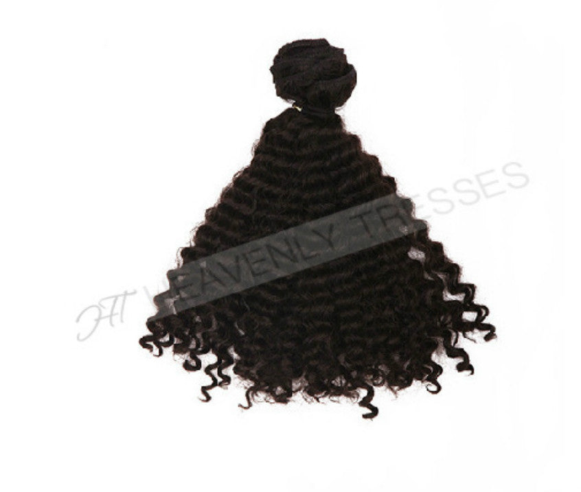 Raw Unprocessed Double Drawn Deep Curl Hair Extensions