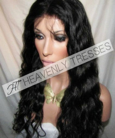Heavenly Tresses Virgin Spanish Wave Full Lace Wig Chole