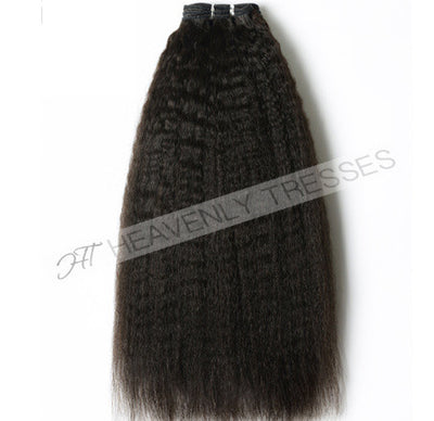 Kinky Straight Virgin Hair Extension bundles