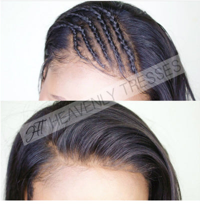 13 x 6 Customized Hairline Lace Frontal