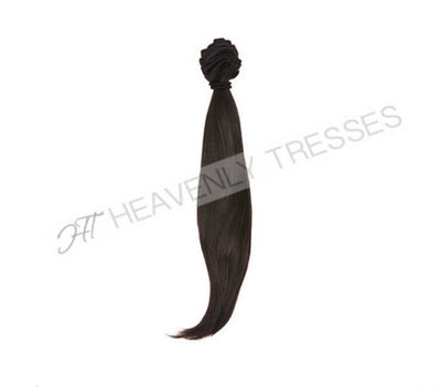 Raw Unprocessed Double Drawn Silky Straight Hair Extensions