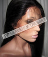 Silky Bone Straight Virgin Full Lace Wig By Heavenly Tresses
