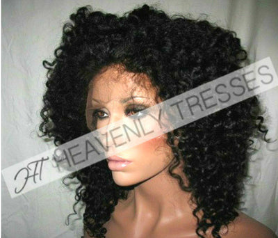 Afro Deep Curl Full Lace Wig by Heavenly Tresses