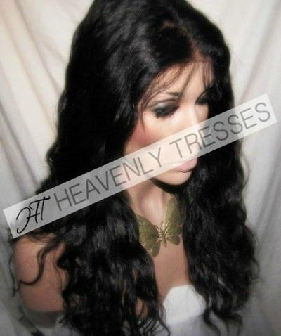 Virgin Spanish Wave Full Lace Wig