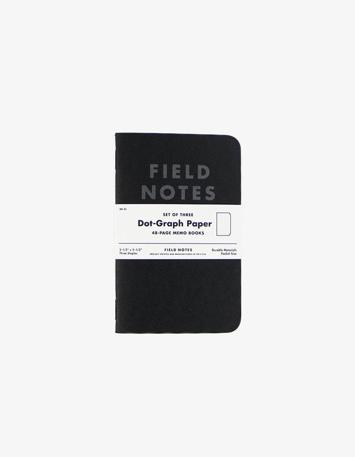 Field Notes Notebook black