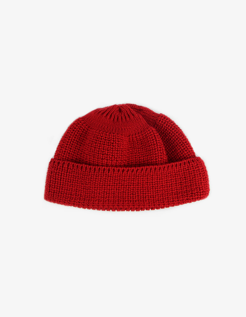 Knitted Hat – red