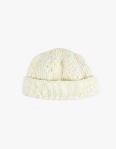 Knitted Hat – white