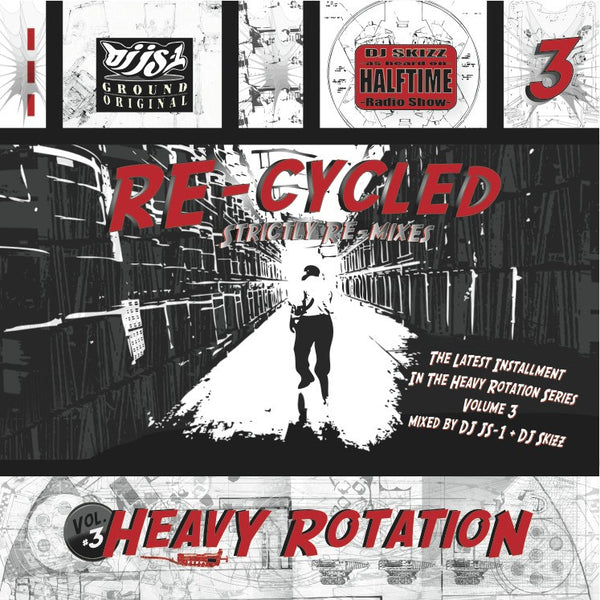 "DJ Skizz & DJ JS1 - Heavy Rotation Vol. 3 ""Re-Cycled"" Mixtape"