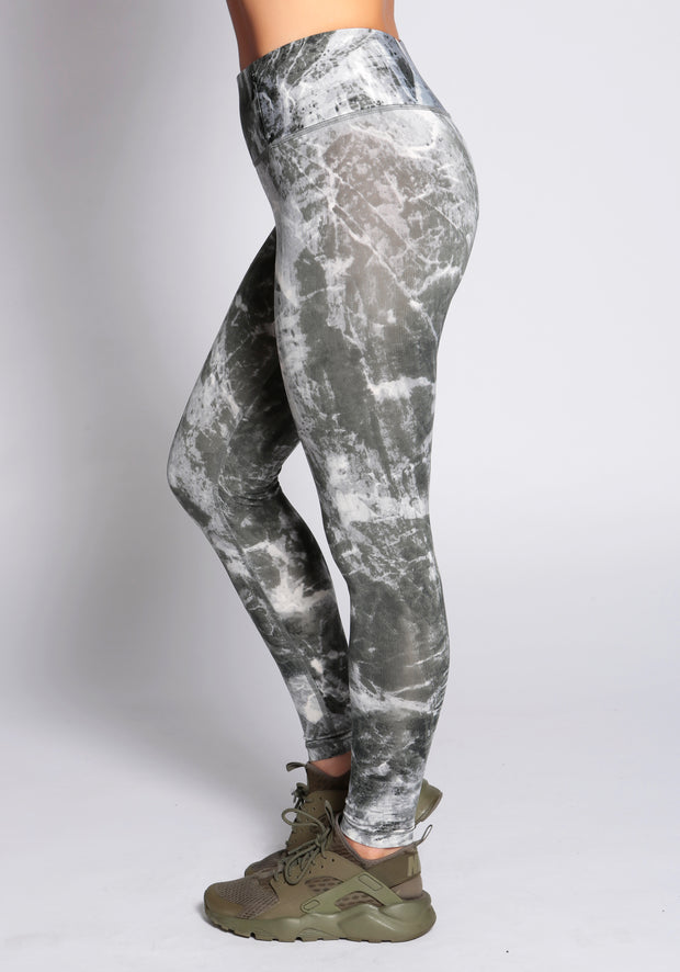 Marble Funky Leggings - YOGGINGS