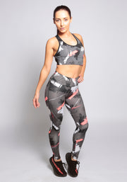 Pattern Sports Bra - YOGGINGS