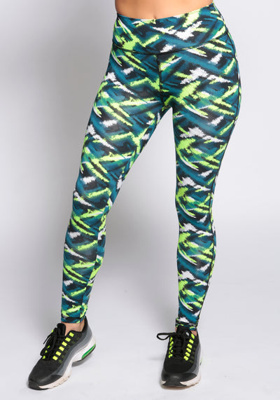 Patterned Funky Leggings - YOGGINGS