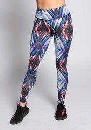 Fitness Printed Leggings - YOGGINGS