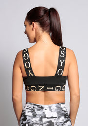 Sports Logo Bra - YOGGINGS