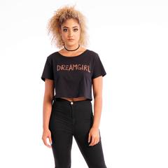 Dreamgirl Cropped Tee - Stormie Dreams