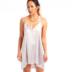 Tara Silk Dress - Stormie Dreams