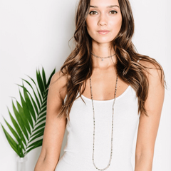 Wrap Layering Necklace - Tess + Tricia