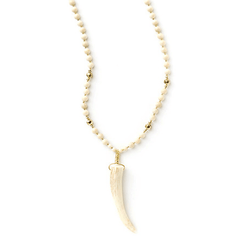 Luna Antler Necklace - Tess + Tricia