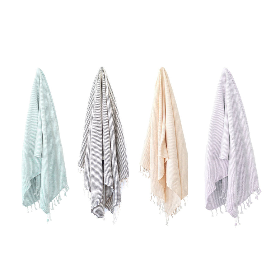 Organic Turkish Kai towel hanging cover