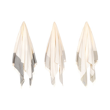 Organic Turkish Lake towel hanging cover