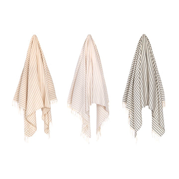 Organic Turkish Oasis towel hanging cover