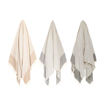 Organic Turkish Repose towel hanging cover