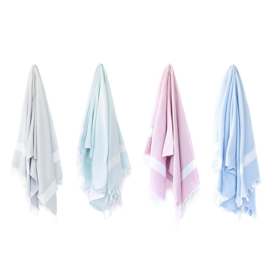 Organic Turkish Yara towel hanging cover