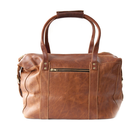 Getaway Overnight Bag- Brown