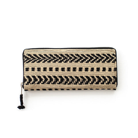 Santiago Wallet in Desert & Navy -  - 1