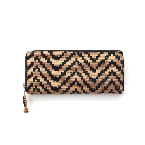 Atitlán Wallet in Desert & Black -  - 1