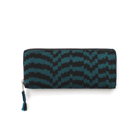 Atitlán Wallet Dark Teal/Black -  - 1