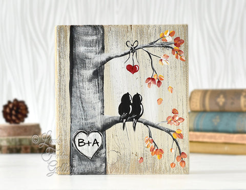 Rustic wood sign with fall colors wood fall decor