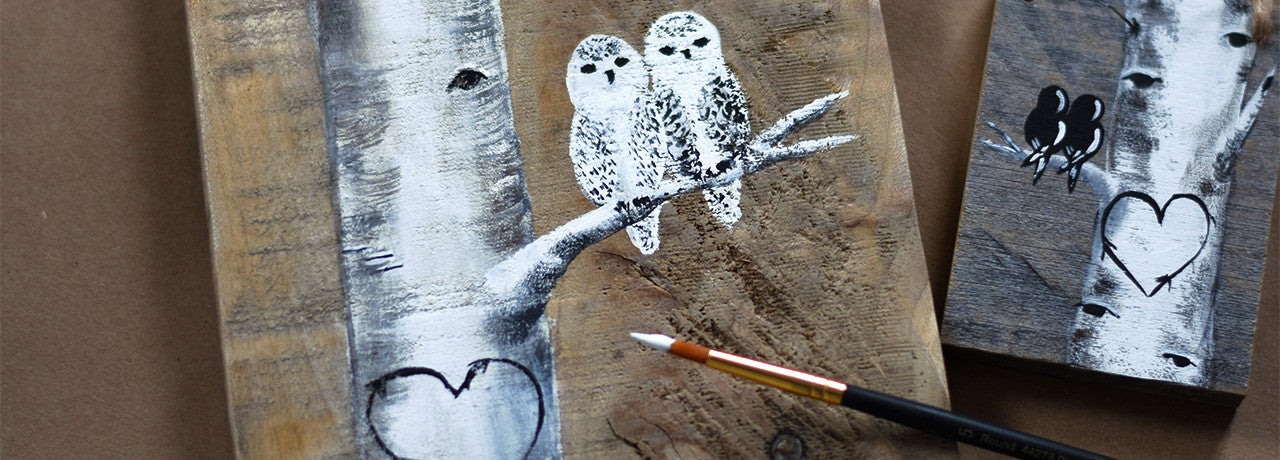 snowy owls 5th anniversary gift idea