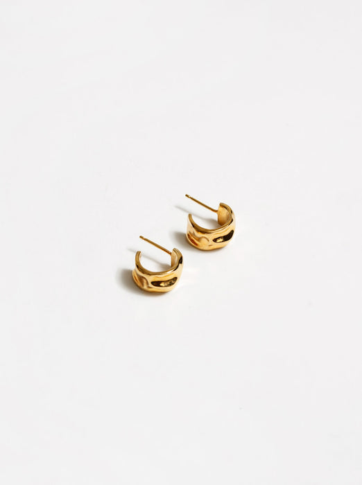 Wolf Circus Selma Hoops in Gold