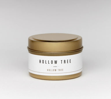 Hollow Tree Travel Candle - Fireweed