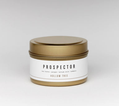 Hollow Tree Travel Candle - Prospector