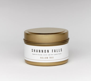 Hollow Tree Travel Candle - Shannon Falls