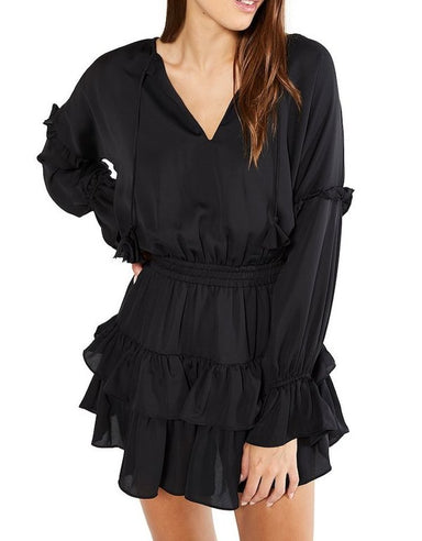 Misa Los Angeles Amalya Dress in Black